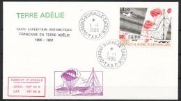 Franz.Gebiete I.d.Antarktis - Mi.Nr .     218      Gestempelt -     FDC - FDC