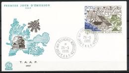 Franz.Gebiete I.d.Antarktis - Mi.Nr .     219      Gestempelt -     FDC - FDC