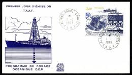 Franz.Gebiete I.d.Antarktis - Mi.Nr .     229      Gestempelt -     FDC - FDC