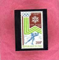MALI 1980 OLYMPIC WINTER GAMES LAKE PLACID GIOCHI OLIMPICI INVERNALI OLIMPIADI MNH - Mali (1959-...)