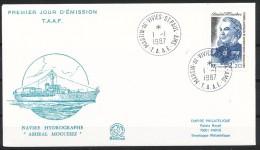Franz.Gebiete I.d.Antarktis - Mi.Nr .     226        Gestempelt -     FDC - FDC