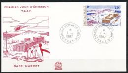 Franz.Gebiete I.d.Antarktis - Mi.Nr .     225        Gestempelt -     FDC - FDC