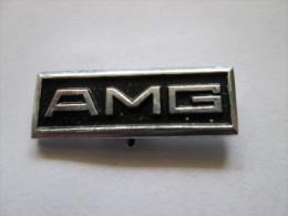 Mercedes Benz Daimler AMG Anstecknadel Schwarz - Mercedes