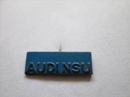Audi NSU Anstecknadel Blau - Volkswagen
