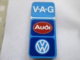 VAG Turm AUDI VW Groß Goldfarben Anstecknadel - Volkswagen