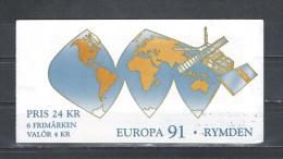 Zweden 1991 - Yv. Boekje C1653 - Michel MH159 Gest./obl./used - Carnets