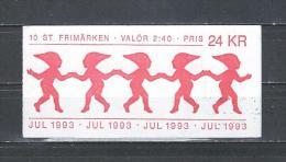 Zweden 1993 - Yv. Boekje C1783 - Michel MH187 Gest./obl./used - Carnets