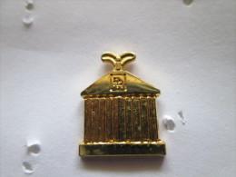 ROLLS ROYCE Pin Ansteckknopf Kühlerhaube Goldfarben - Pin's & Anstecknadeln