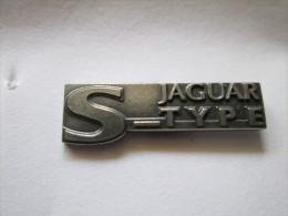 Jaguar S-TYPE Pin Ansteckknopf Silberfarben - Jaguar