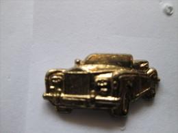 Rolls Royce Pin Ansteckknopf Auto Goldfarben - Pin's & Anstecknadeln
