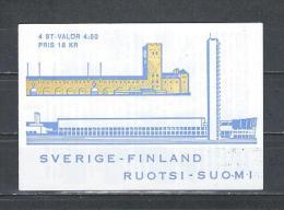 Zweden 1994 - Yv. Boekje C1827 - Michel MH196 Gest./obl./used - Carnets