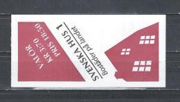 Zweden 1995 - Yv. Boekje C1857 - Michel MH201 Gest./obl./used - Carnets