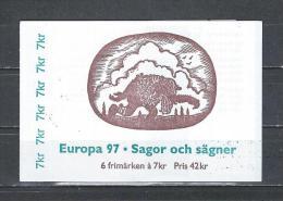 Zweden 1997 - Yv. Boekje C1983 - Michel MH228 Gest./obl./used - Carnets