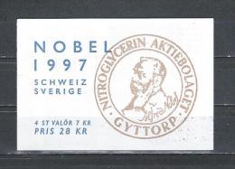 Zweden 1997 - Yv. Boekje C2007 - Michel MH233 Gest./obl./used - Carnets