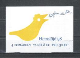 Zweden 1998 - Yv. Boekje C2028 - Michel MH238 Gest./obl./used - Carnets