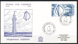 Franz.Gebiete I.d.Antarktis - Mi.Nr .     232        Gestempelt -     FDC - FDC
