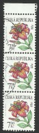 Czech Republic, 7.50 K. 2005, Sc # 3262, Mi # 422, Used Strip Of 3 - Czech Republic