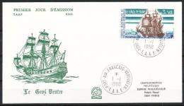 Franz.Gebiete I.d.Antarktis - Mi.Nr .     236        Gestempelt -     FDC - FDC