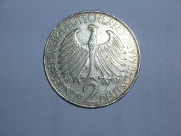 2 Mark (Max Plank) 1957 D (5457) - [ 7] 1949-… : RFA - Rep. Fed. Alemana