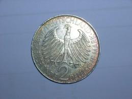 2 Mark (Max Plank) 1957 J (5460) - [ 7] 1949-… : RFA - Rep. Fed. Alemana