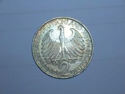 2 Mark (Max Plank) 1958 D (5461) - [ 7] 1949-… : RFA - Rep. Fed. Alemana