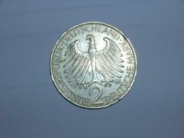 2 Mark (Max Plank) 1958 F (5462) - [ 7] 1949-… : RFA - Rep. Fed. Alemana