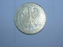 2 Mark (Max Plank) 1958 G (5463) - [ 7] 1949-… : RFA - Rep. Fed. Alemana