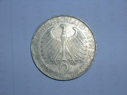 2 Mark (Max Plank) 1959 D (5465) - [ 7] 1949-… : RFA - Rep. Fed. Alemana