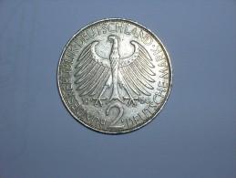 2 Mark (Max Plank) 1960 F (5468) - [ 7] 1949-… : RFA - Rep. Fed. Alemana