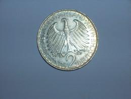 2 Mark (Max Plank) 1960 G (5469) - [ 7] 1949-… : RFA - Rep. Fed. Alemana