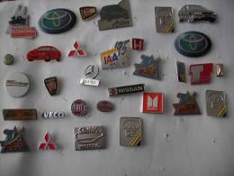 31 Auto Anstecknadeln + Pins Sammlung Konvolut Lot #2 - Pin's & Anstecknadeln