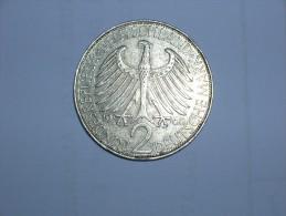 2 Mark (Max Plank) 1961 D (5471) - [ 7] 1949-… : RFA - Rep. Fed. Alemana