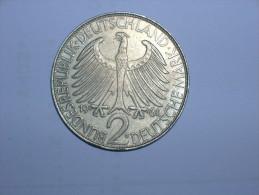 2 Mark (Max Plank) 1961 G (5473) - [ 7] 1949-… : RFA - Rep. Fed. Alemana