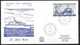 Franz.Gebiete I.d.Antarktis - Mi.Nr .     239        Gestempelt -     FDC - FDC