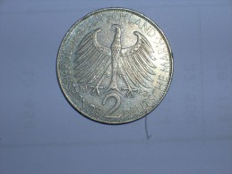 2 Mark (Max Plank) 1962 J (5478) - [ 7] 1949-… : RFA - Rep. Fed. Alemana
