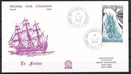 Franz.Gebiete I.d.Antarktis - Mi.Nr .     240        Gestempelt -     FDC - FDC