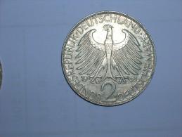 2 Mark (Max Plank) 1963 D (5479) - [ 7] 1949-… : RFA - Rep. Fed. Alemana