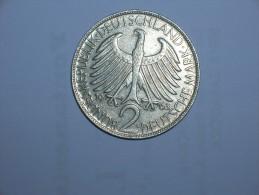 2 Mark (Max Plank) 1963 G (5481) - [ 7] 1949-… : RFA - Rep. Fed. Alemana