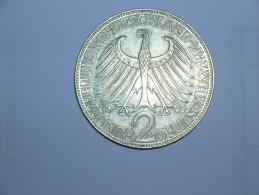 2 Mark (Max Plank) 1963 J (5482) - [ 7] 1949-… : RFA - Rep. Fed. Alemana
