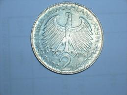 2 Mark (Max Plank) 1964 D (5483) - [ 7] 1949-… : RFA - Rep. Fed. Alemana