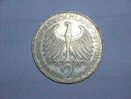 2 Mark (Max Plank) 1964 G (5485) - [ 7] 1949-… : RFA - Rep. Fed. Alemana