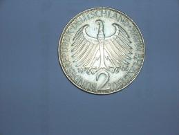 2 Mark (Max Plank) 1965 D (5487) - [ 7] 1949-… : RFA - Rep. Fed. Alemana