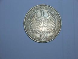 2 Mark (Max Plank) 1965 F (5488) - [ 7] 1949-… : RFA - Rep. Fed. Alemana