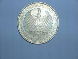 2 Mark (Max Plank) 1965 G (5489) - [ 7] 1949-… : RFA - Rep. Fed. Alemana