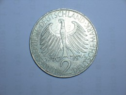 2 Mark (Max Plank) 1965 J (5490) - [ 7] 1949-… : RFA - Rep. Fed. Alemana