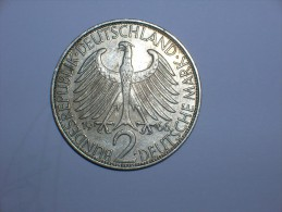 2 Mark (Max Plank) 1966 F (5492) - [ 7] 1949-… : RFA - Rep. Fed. Alemana