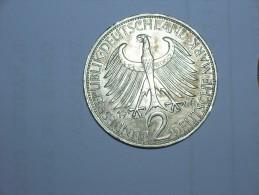 2 Mark (Max Plank) 1966 J (5494) - [ 7] 1949-… : RFA - Rep. Fed. Alemana