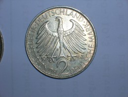2 Mark (Max Plank) 1967 D (5495) - [ 7] 1949-… : RFA - Rep. Fed. Alemana