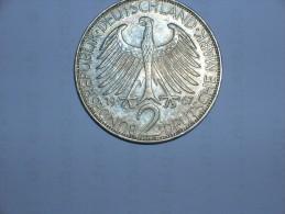 2 Mark (Max Plank) 1967 F (5496) - [ 7] 1949-… : RFA - Rep. Fed. Alemana