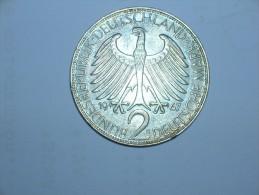2 Mark (Max Plank) 1967 G (5497) - [ 7] 1949-… : RFA - Rep. Fed. Alemana